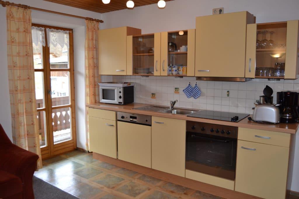 Silbergblick Küche